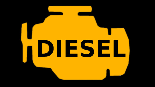 Diesel motor engine icon