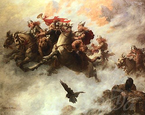 The Mythological Truth bywena: The Glory of the Norse Gods