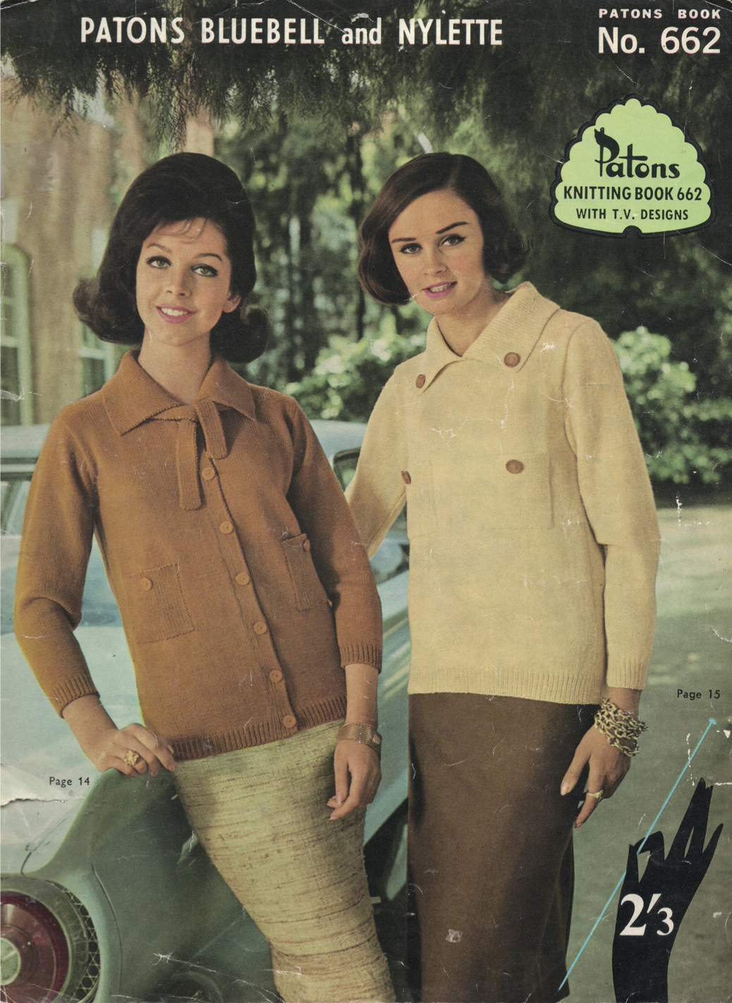 The Vintage Pattern Files: 1960s Knitting - Patons No.662 Women\'s ...