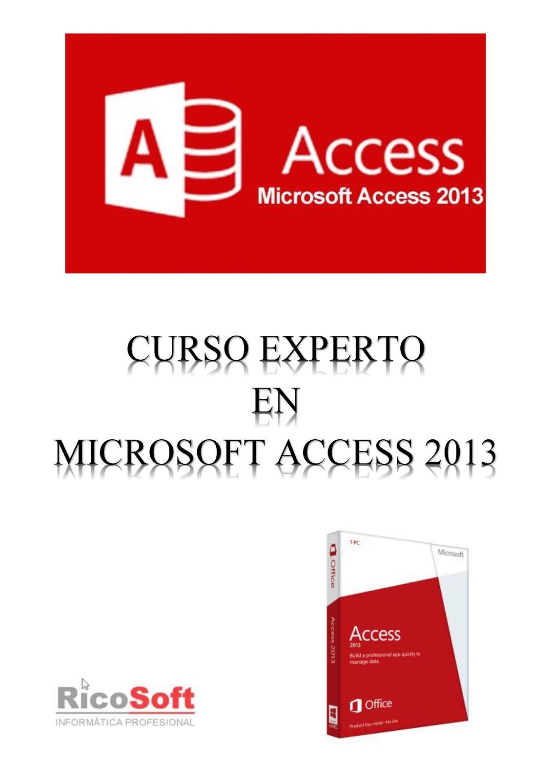 Curso Experto en Microsoft Access 2013 – Aulaclic
