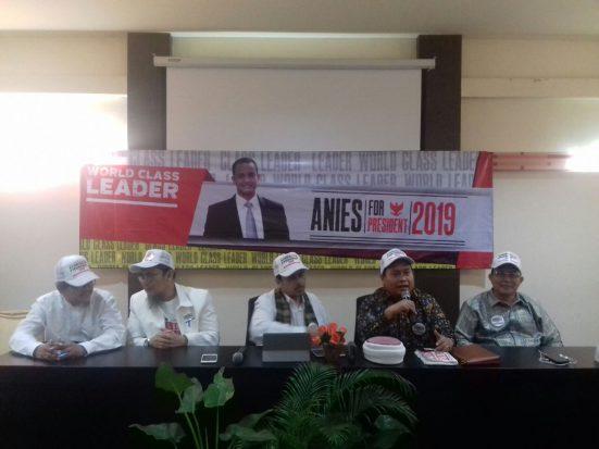 Gerakan Indonesia untuk Indonesia Deklarasikan Anies Baswedan sebagai Capres 2019-2024