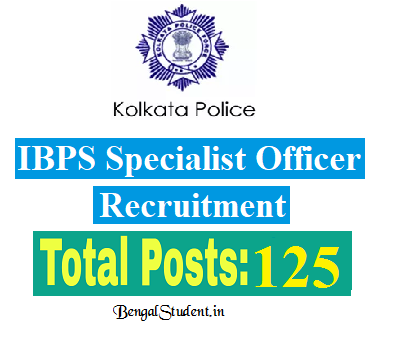 Civic Volunteer 125 Post Kolkata Police Recruitment 2018