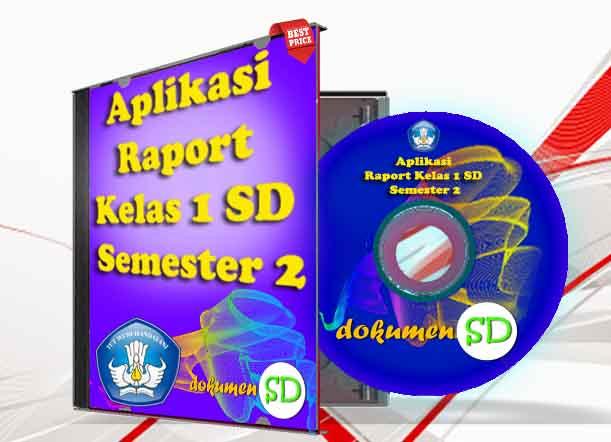 Dokumen SD - Aplikasi Raport Kelas 1 SD Semester 2 Lengkap dengan Panduan Penilaian Edisi Revisi Kurikulum 2013