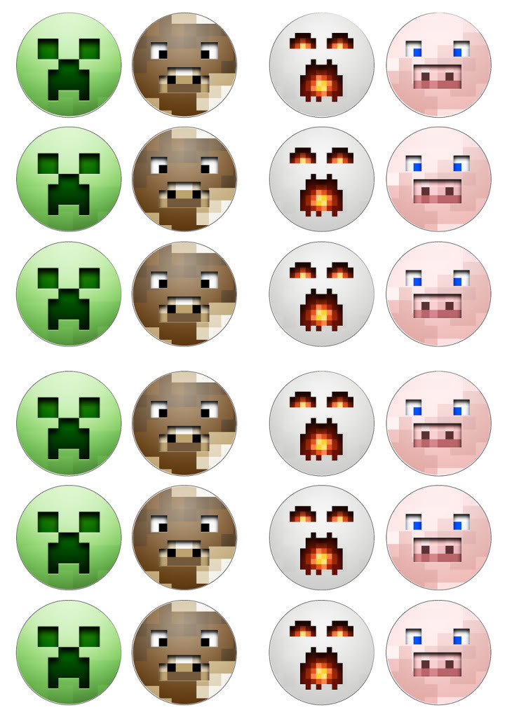 Free Printable Minecraft Bingo Via: lifewithsqueaker ...