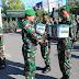 Bingkisan Kasad Kepada Anggota Prajurit TNI di Blitar