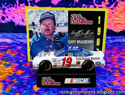 Gary Bradberry #19 Child Support Racing Champions 1/64 NASCAR diecast blog age TRI STAR