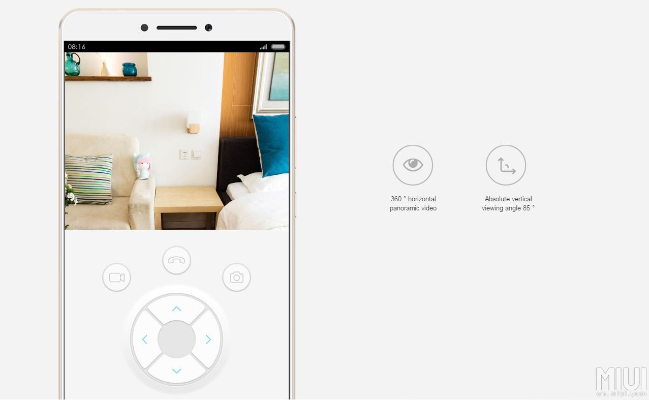 Xiaomi Home: Mi Xiaomi MIJIA 360 Smart Home Camera Specification