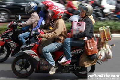 Tips Mudik Nyaman Dengan Sepeda Motor