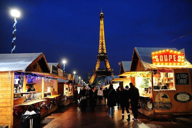 Champs-Elysées CHristmas Market, Paris