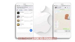 Fouad WhatsApp v7.60 DroidBlue & IOS Themes Remod By Ciben