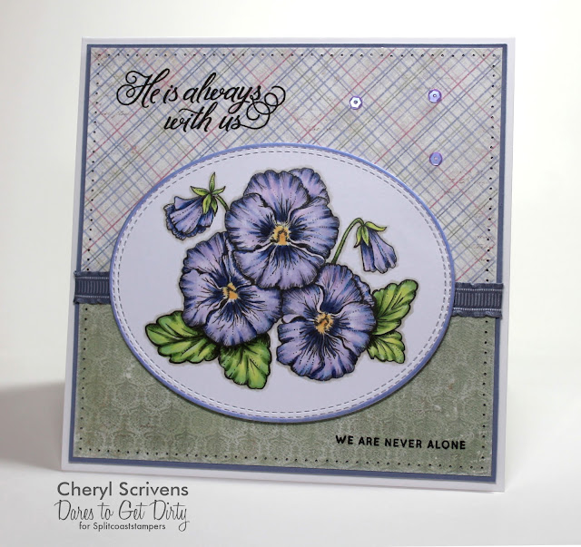 Cheryl Scrivens, CherylQuilts, Dare To Get Dirty 2017, Splitcoaststampers, Power Poppy, Simon Says Stamp