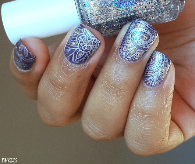 Essence - Wonderfuel et stamping arabesques QA88