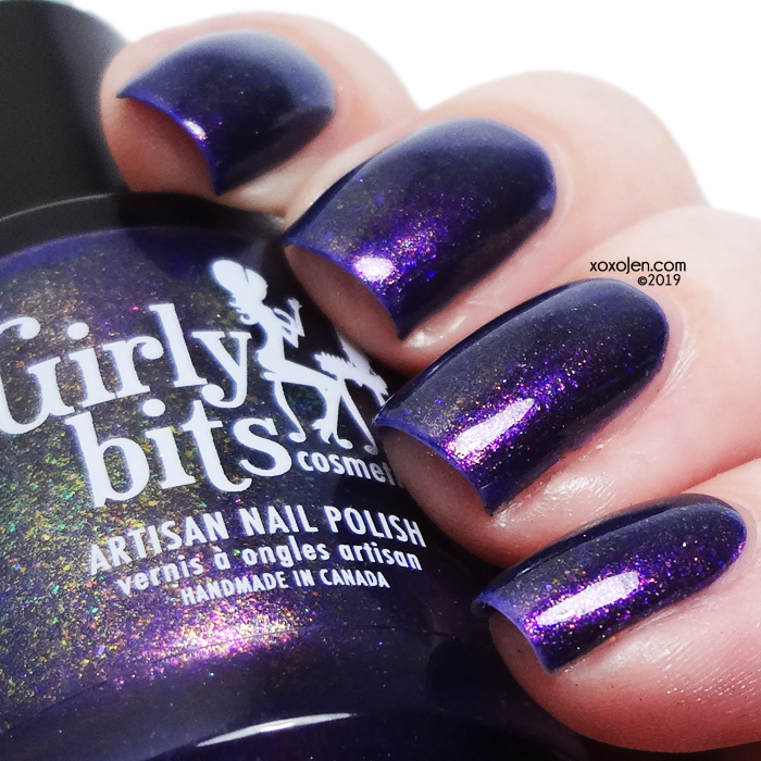 xoxoJen's swatch of Girly Bits: Bourbon Street Stroll