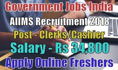 All India Institute of Medical Sciences AIIMS Recruitment 2018