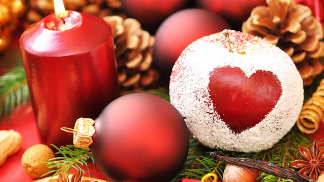 Christmas Heart HD Wallpapers Download Free