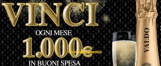 Logo Festeggia i 90 anni di Valdo e vinci buoni spesa da 1.000 euro
