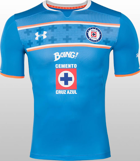 4da8ee8f Cruz Azul 15-16 Kits Released - Footy Headlines