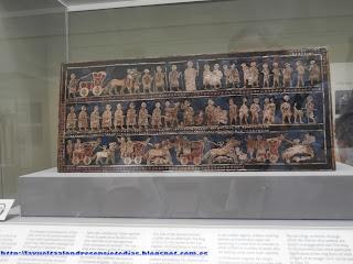 Cofre mesopotámico en el British Museum
