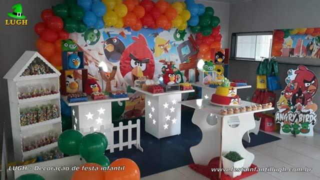Decoração de festa Angry Birds provençal - Aniversário infantil