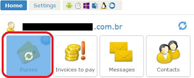 Purse / Bolsa do webmoney