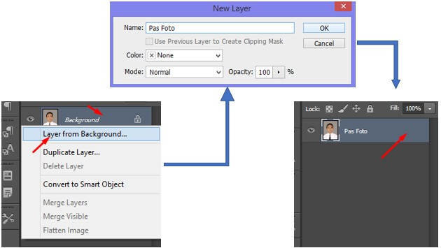 Cara Menghapus Mengganti Background Gambar DI Photoshop Menggunakan Magic Wand Tool dan Paint Backet Tool