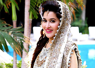 Shahista Lodhi Wedding Pose.