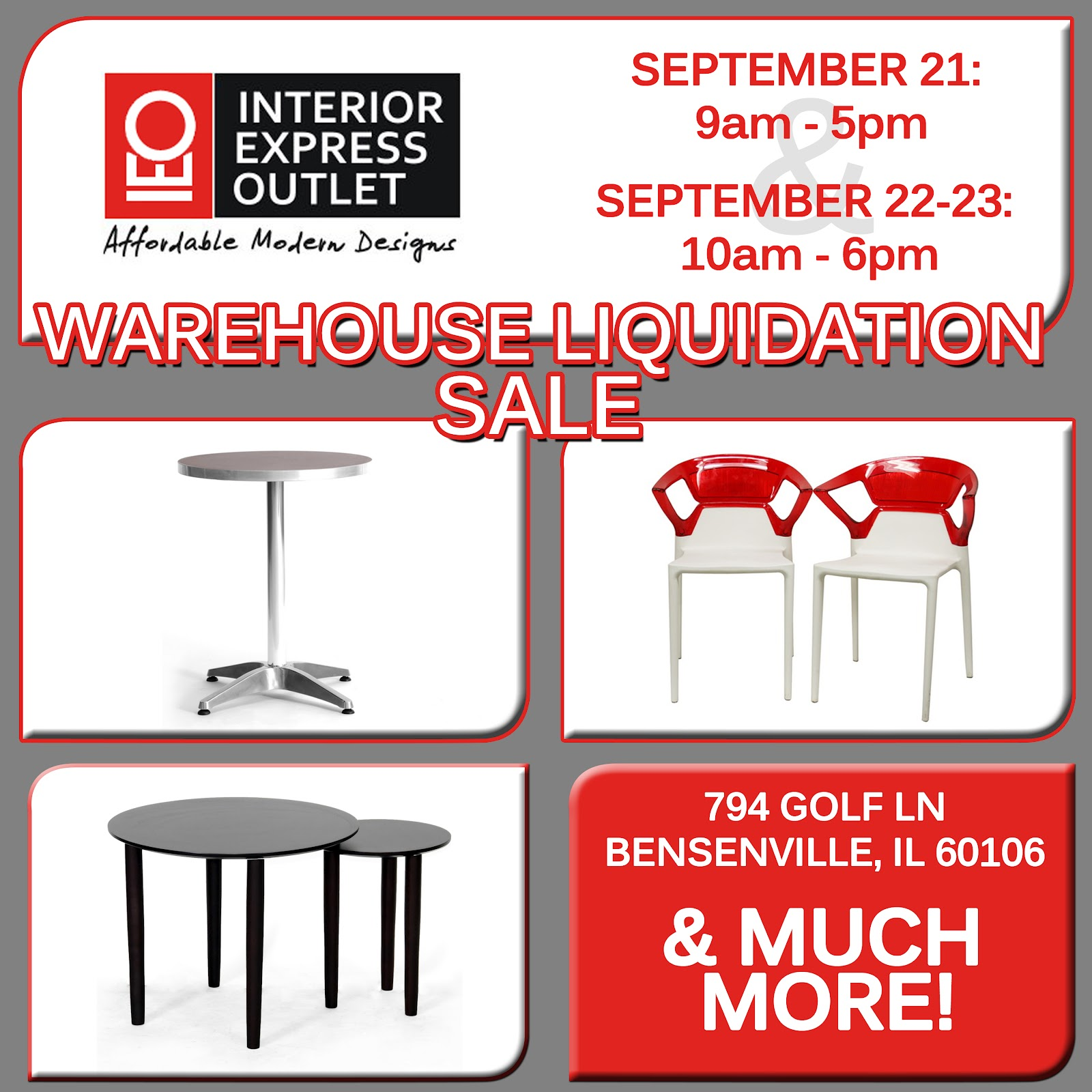 Furniture Sales This Weekend: Interior Express Outlet Blog