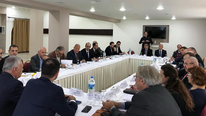 Σύσκεψη εργασίας με εκπροσώπους επιχειρήσεων της Αν. Μακεδονίας - Θράκης