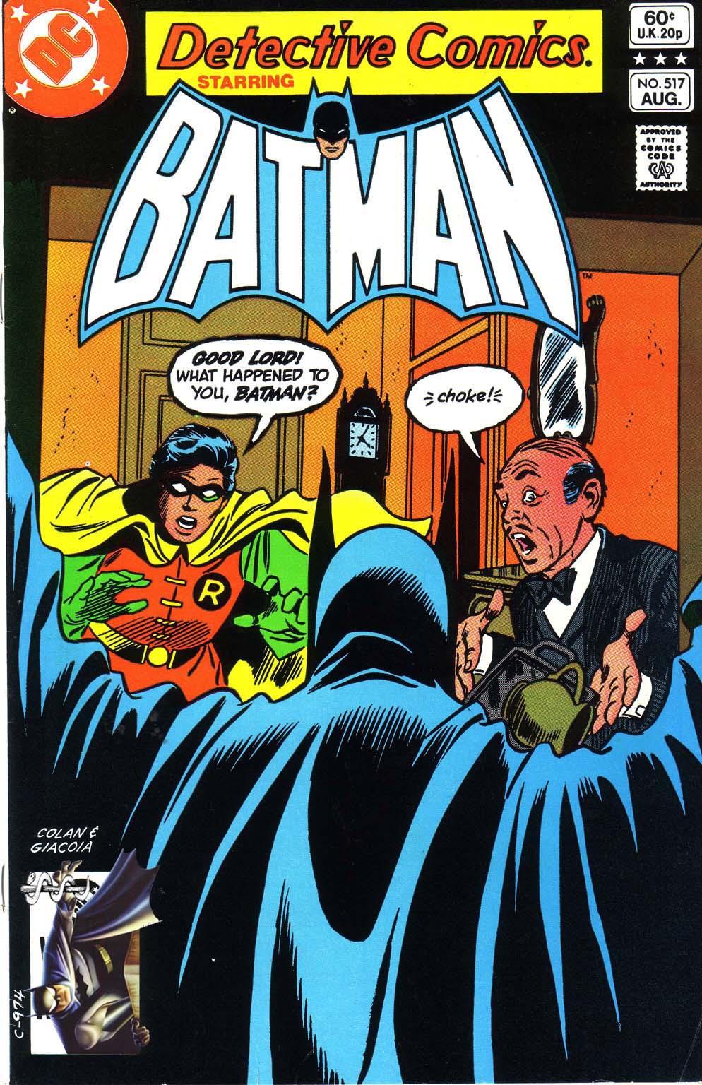 Detective Comics (1937) 517 Page 1