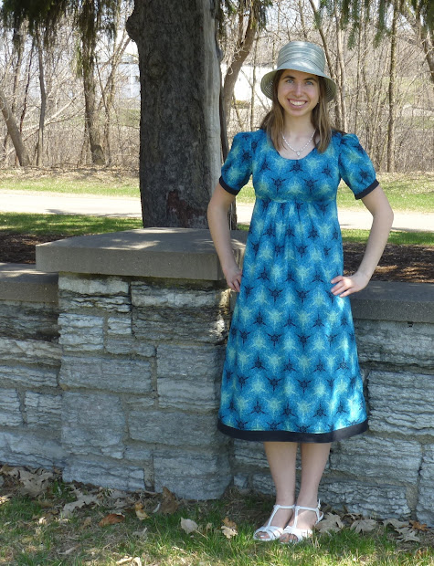 College Seamstress Easter Dress