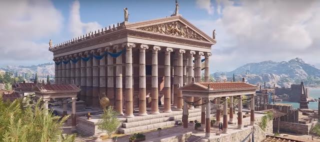 Δείτε την Αρχαία Αθήνα ολοζώντανη μέσα από τα γραφικά του Assassin's Creed Odyssey