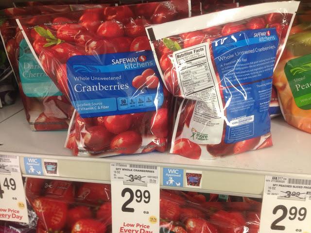 Cranberries, Safeway Kitchens, 16 oz - Safeway
