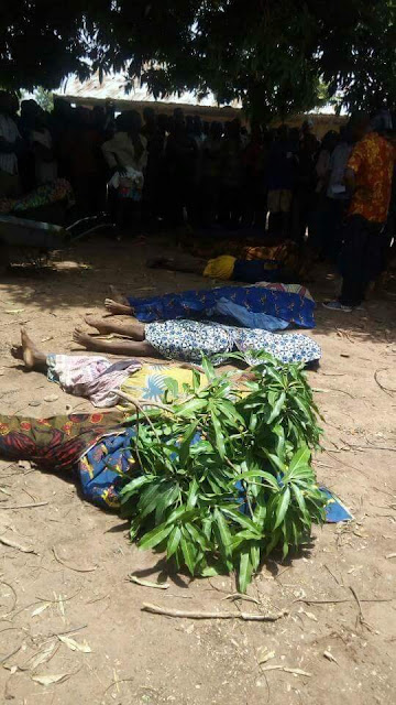 Graphic photos from fresh Fulani herdsmen attack in Benue State