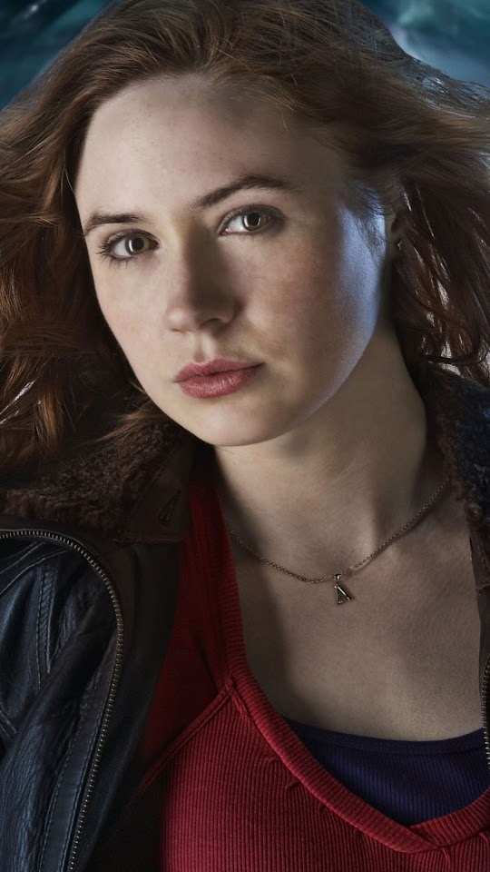 Karen Gillan as Amy Pond   Galaxy Note HD Wallpaper