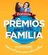 Cadastrar Promoção Prêmios Toda Família Kimberly-Clark Atacadão