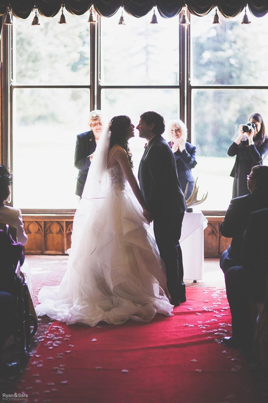 saying I do, kiss the bride, wedding