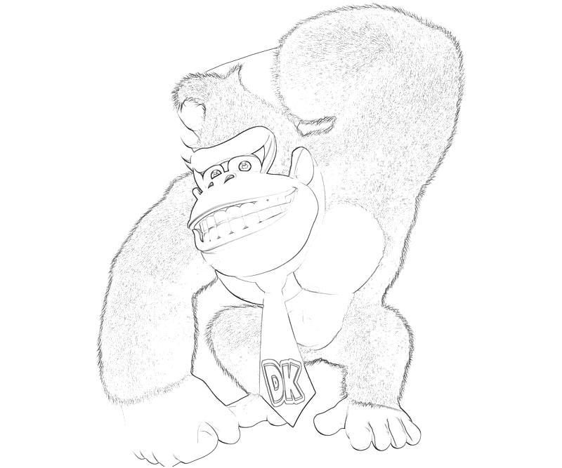 Donkey Kong Country Returns Donkey Kong Character | Mario
