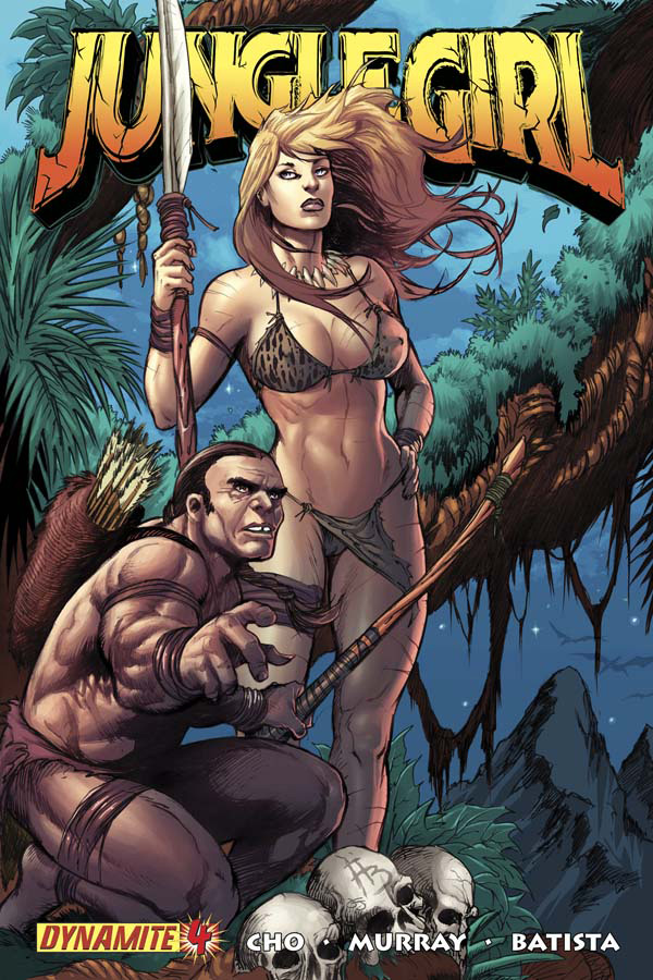 Read online Jungle Girl comic -  Issue #4 - 2