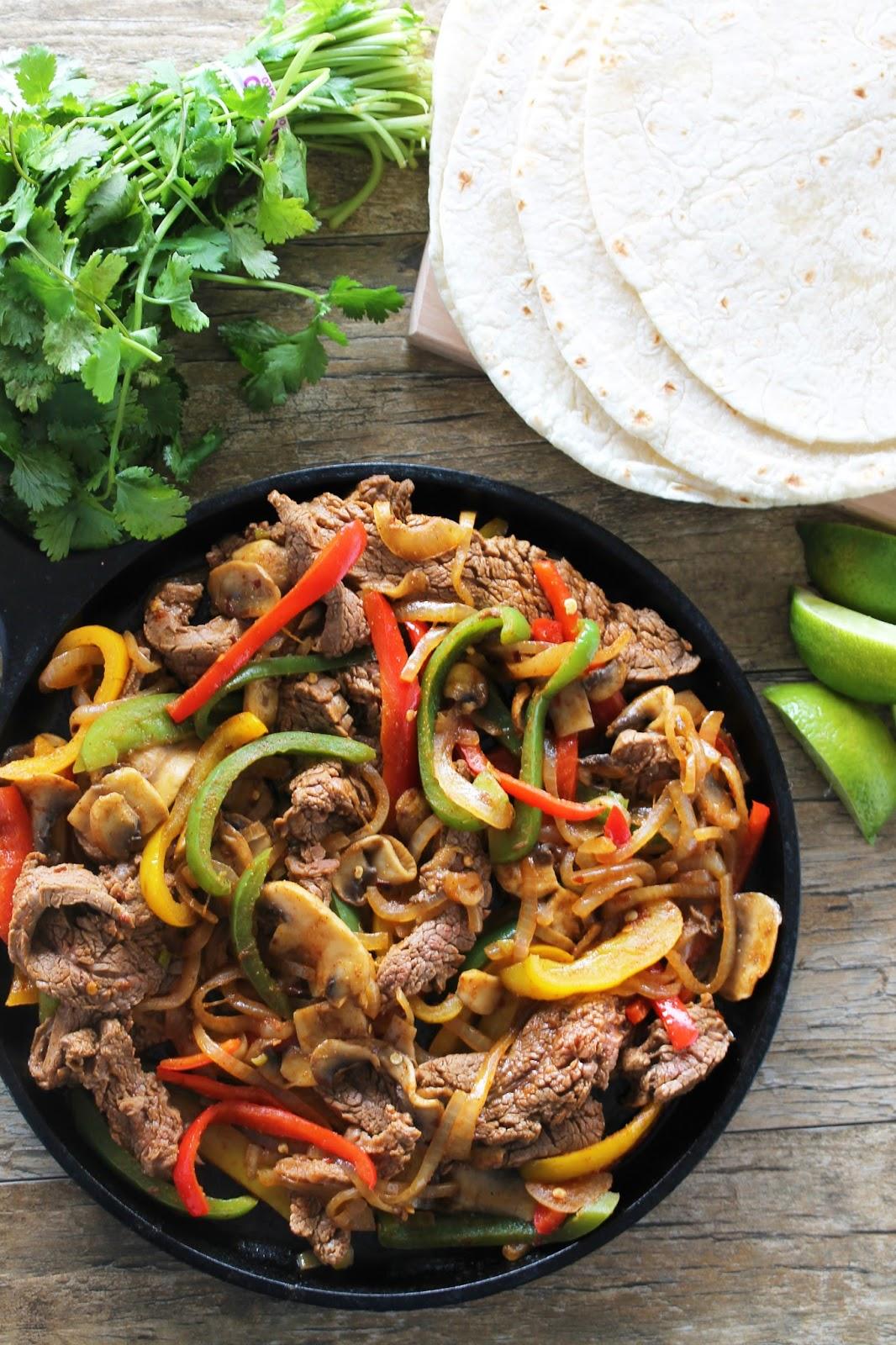 How to cook beef flank steak for fajitas