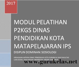 Modul Sosiologi Final P2KGS Permendikbud Nomor 24 Tahun 2016