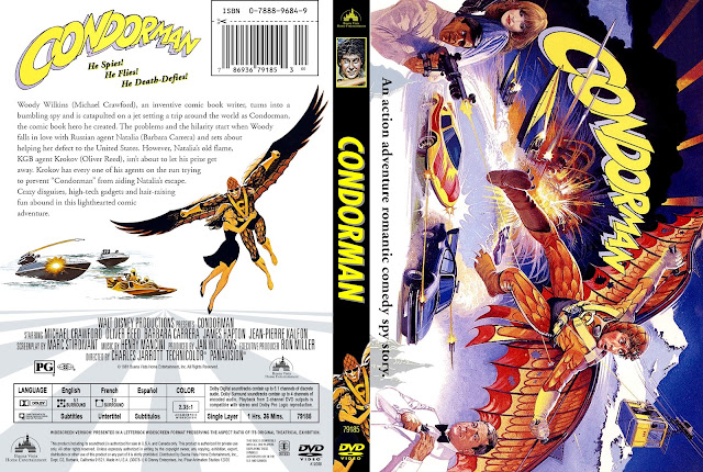 Condorman DVD Cover