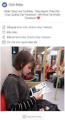 [ Review ] Dịch Vụ Facebook Uy Tín - Nguyễn Chí Tài.