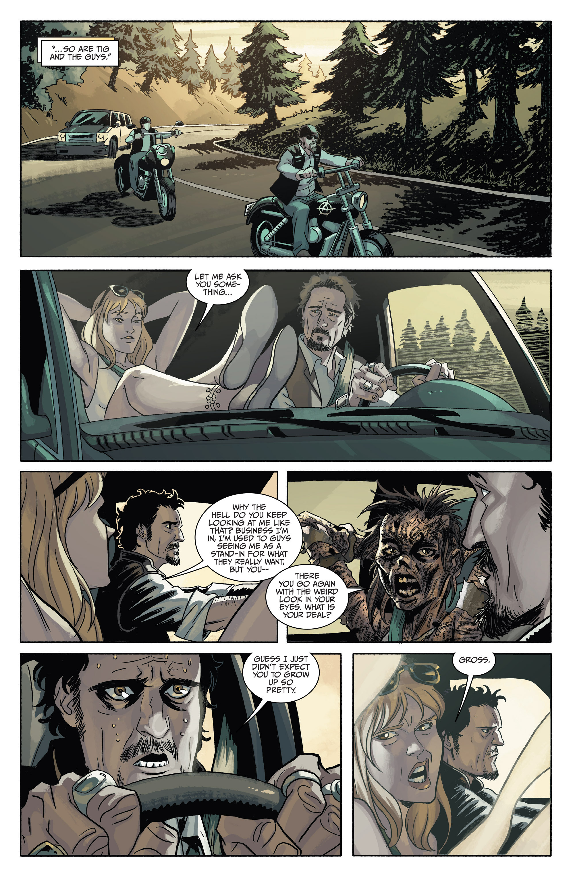 Read online Sons of Anarchy comic -  Issue #4 - 12