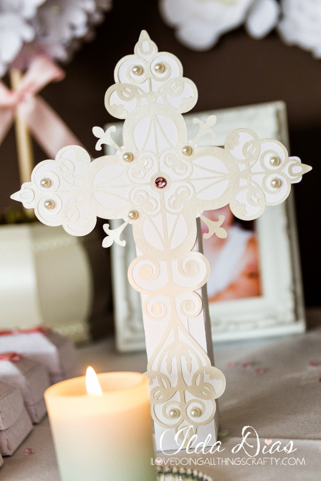 First Communion Day + DIY Decor, Table Decor