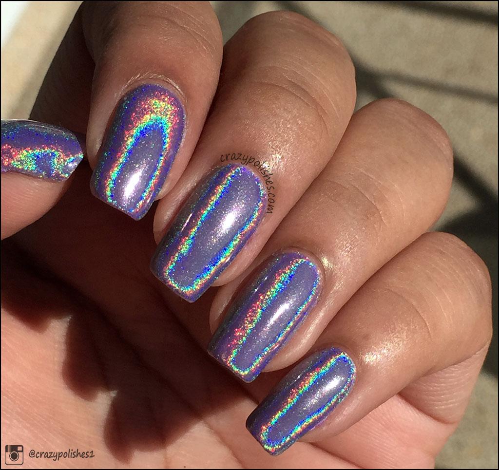 Hologram Gel Nail Polish: Nail Arts, Swatches, Reviews