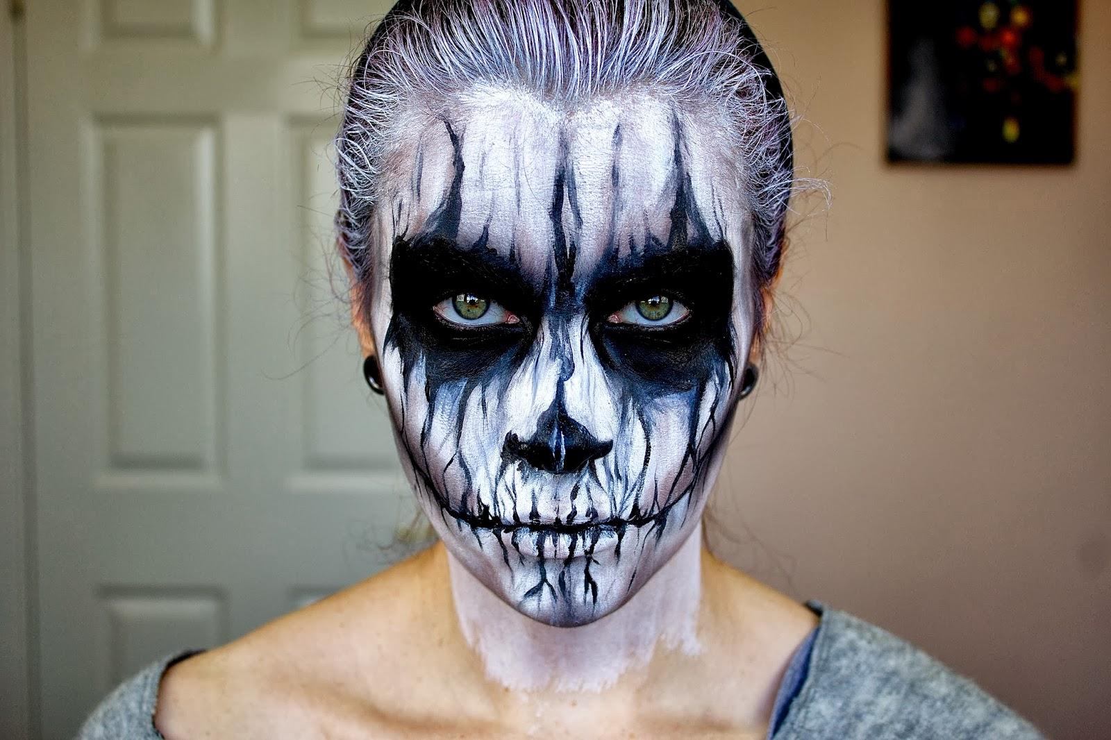 letzmakeup blog: evil demon; halloween makeup tutorial.