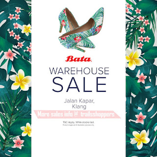 Bata Warehouse Sale till Merdeka Day