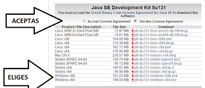 descargar JDK  Java Development Kit