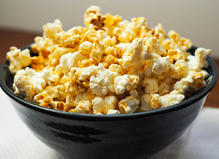 Creamy Homemade Popcorn, Popcorn
