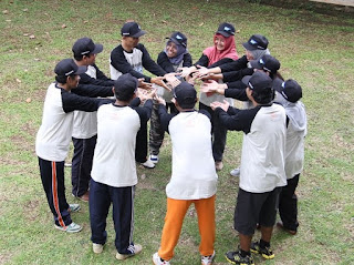 Acara-outbound, acara-gathering, game-outbound